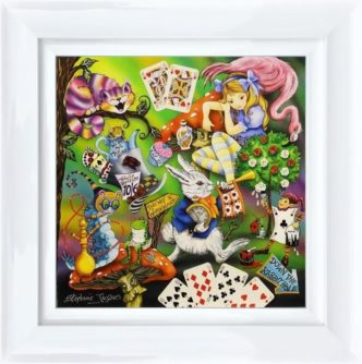 Alice by Stephanie Jacques Original Alice in WOnderland Art