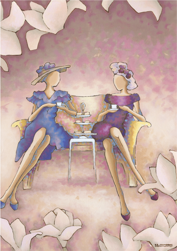 Afternoon Tea by Becky Bettesworth