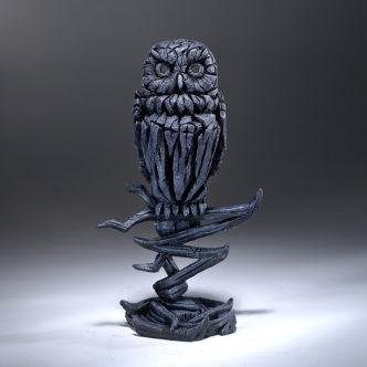 Owl Midnight Blue Matt Buckley Edge Sculpture