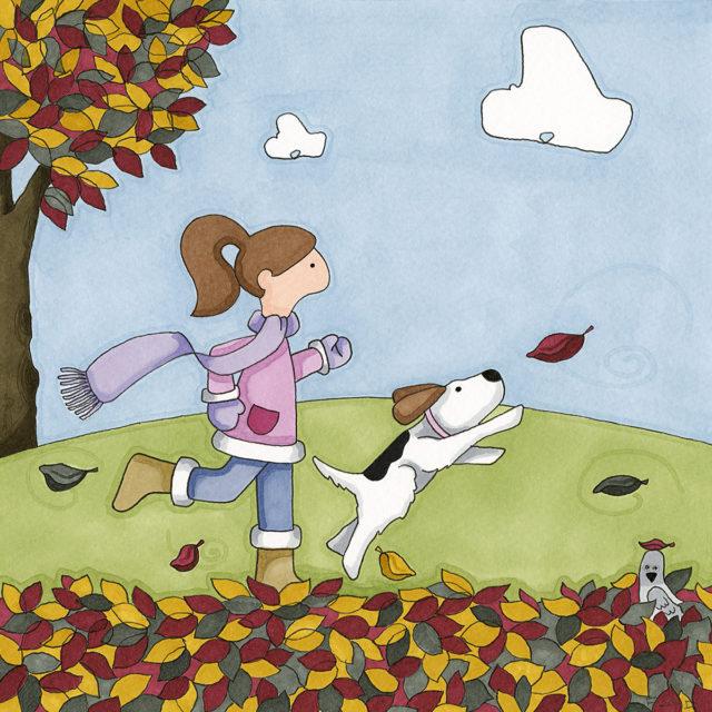 Princess Ethel & the Leaf Chase