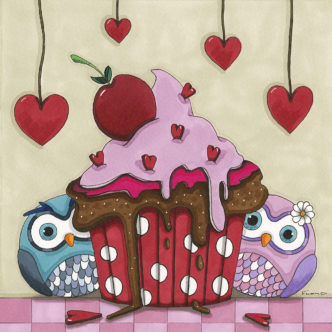 Twit Twoo Cake for Two