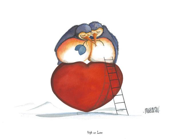 High on Love Penguins