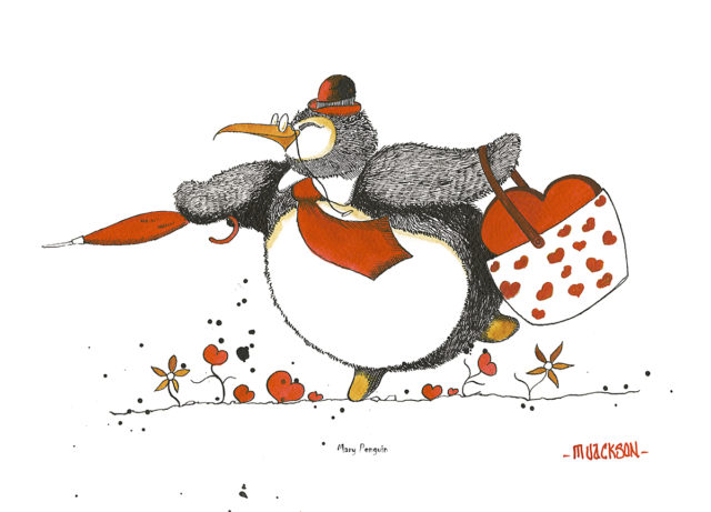 Mary Penguin by Mike Jackson