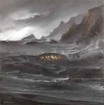 Moonlight Surf by Alan Kingwell