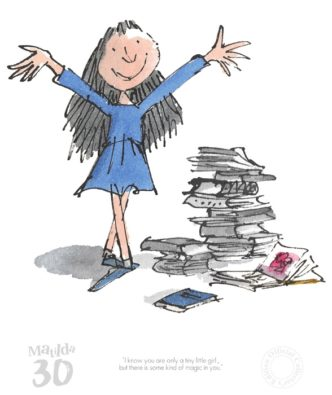Matilda 30th - A Kind Of Magic In You by Quentin Blake and Roald Dahl