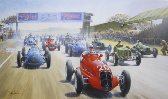 The Start of Silverstone