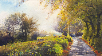 Into the Autumn Morning