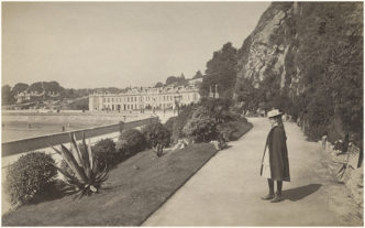 Vintage photograph of Torquay