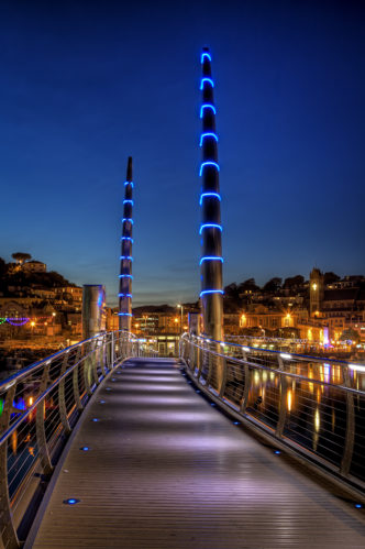Torquay Bridge by Night (Small)