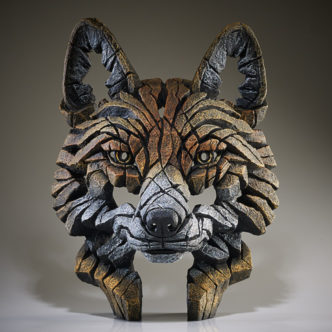 Fox Bust by Matt Buckley Edge Sculpture