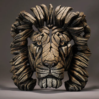 Lion Bust Savannah Matt Buckley Edge Sculpture