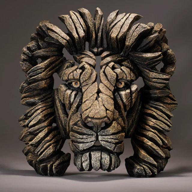 Lion Bust Savannah Matt Buckley Edge Sculpture