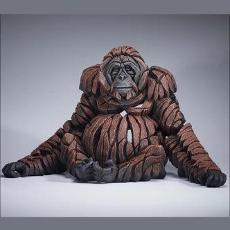 Orangutan Matt Buckley Edge Sculpture