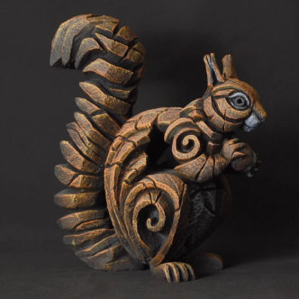Red Squirrel Matt Buckley Edge Sculpture