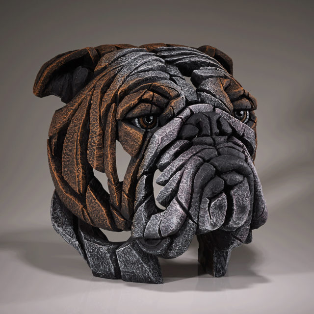 Bulldog Sculpture by Matt Buckley, Edge, Robert Harrop Designs.