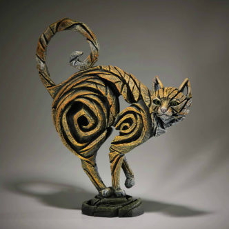 Ginger Cat Sculpture by Matt Buckley Edge Sculpture