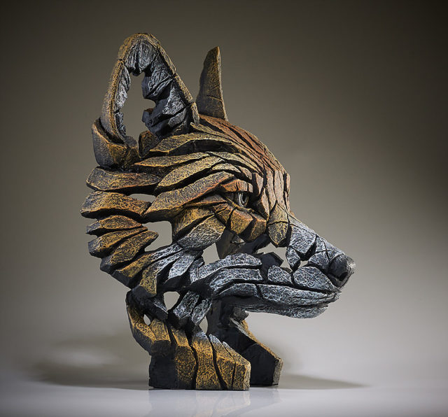 Fox bust Sculpture by Matt Buckley, Edge, Robert Harrop Designs.