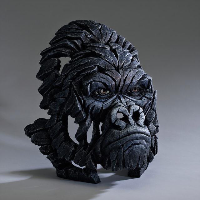 Gorilla Bust Sculpture by Matt Buckley, Edge, Robert Harrop Designs.
