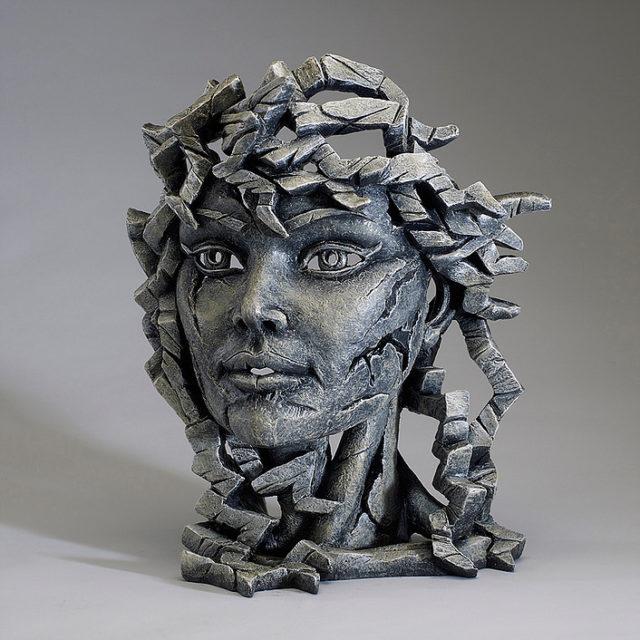 Edge Bust Grey Venus Sculpture by Matt Buckley, Edge, Robert Harrop Designs.