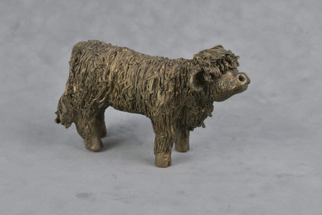 Frith SculptureBull Calf Standing