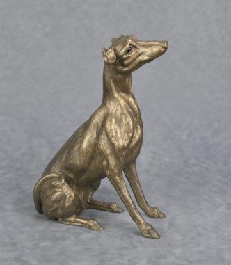 Frith Sculpture Lurcher dog