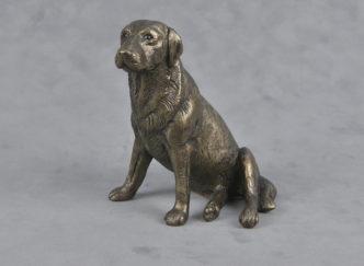 Frith Sculpture Labrador Sitting