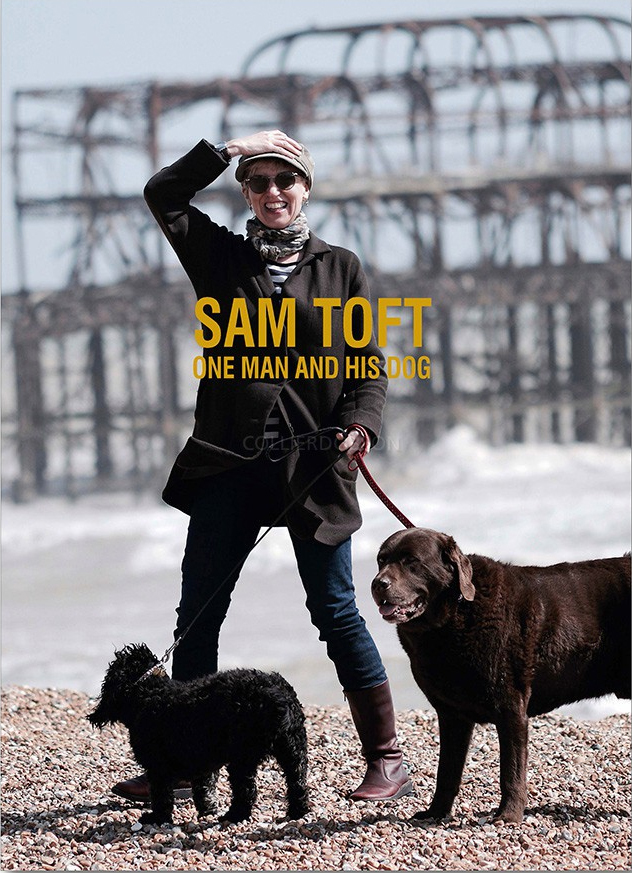 One Man and his Dog by Sam Toft Signed Limited Edition book and print set.
