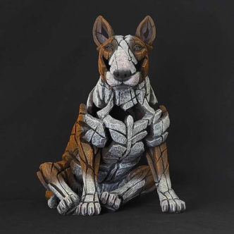 Bull Terrier by Matt Buckley Edge Sculpture