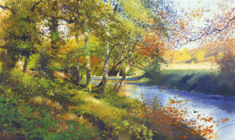 November on the Teign by Richard Thorn