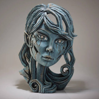 Wood Elf Aqua by Matt Buckley Edge Sculpture