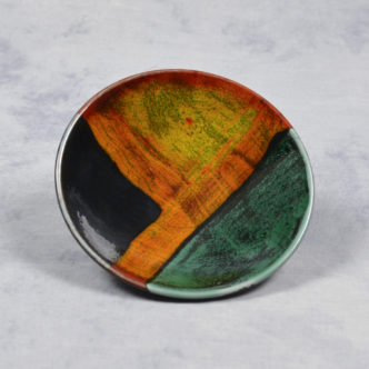 Gemstone Plaque 12cm by Pool Pottery