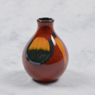 Volcano Bud Vase by Pool Pottery