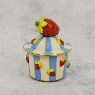 Strawberries Pot by Mary Rose Young