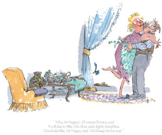 Of Course I'll Marry You by Roald Dahl Quentin Blake Esio Trot