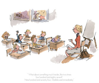 Nine Hundred and Seventy Four by Roald Dahl Quentin Blake Matilda