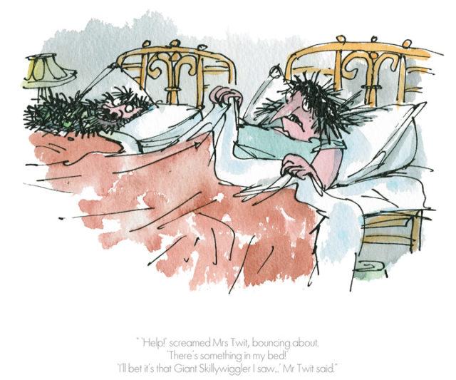 'Help' Screamed Mrs Twit Roald Dahl Quentin Blake The Twits