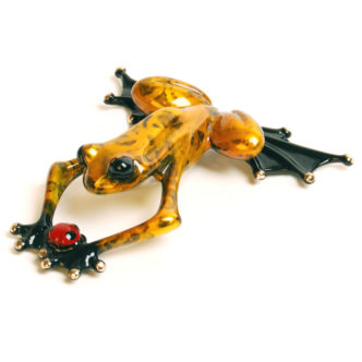 Lucky Bug Frogman Bronze Tim Cotterill