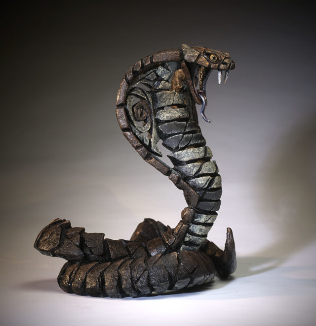 Cobra Copper Brown by Matt Buckley Edge Sculpture