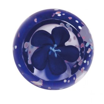 Blossom Sapphire by Caithness Glass
