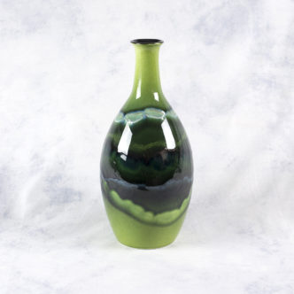 Maya Tall Bottle Vase 26cm by Poole Pottery