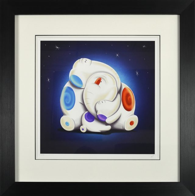 Family Ties by Rob Palmer Framed Signed Limited edition at Haddon Galleries Torquay