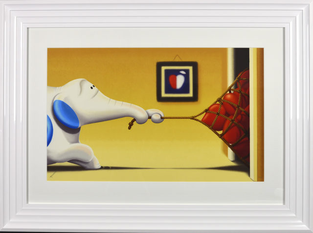 """You Caught My Heart"" Framed signed limited edition print by Rob Palmer at Haddon Galleries Torquay Devon."