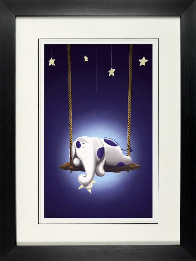 """Wish Upon a Star"" framed signed limited edition print by Rob Palmer at Haddon Galleries Torquay Devon"