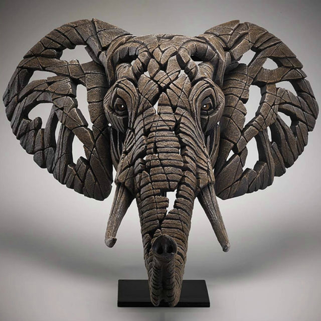 African Elephant Sculpture by Matt Buckley, Edge, Robert Harrop Designs.