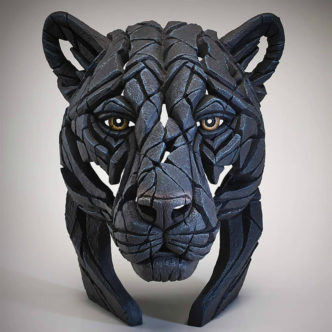 Panther Bust Matt Buckley Edge Sculpture