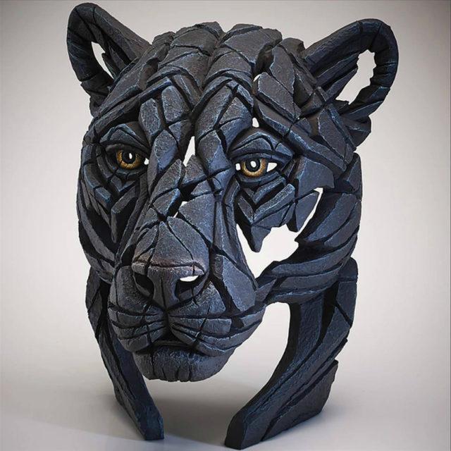 Panther Bust Sculpture by Matt Buckley, Edge, Robert Harrop Designs.