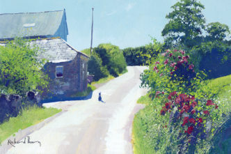 Road to Princetown by Richard Thorn