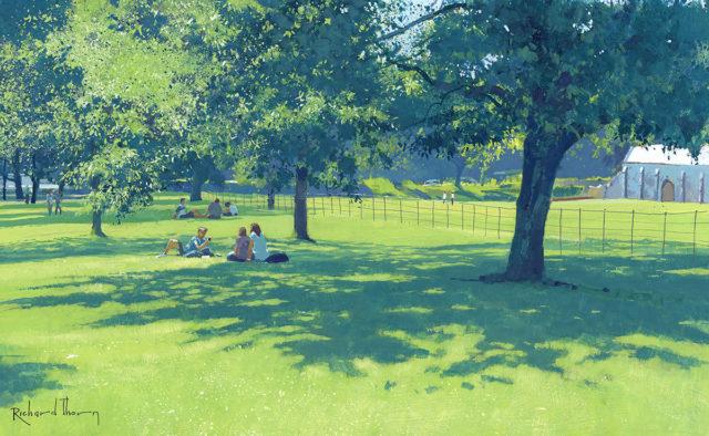 A Summer Garden Walk by Richard Thorn