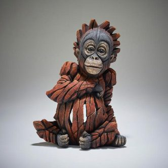 Baby Orangutan by Matt Buckley Edge Sculpture