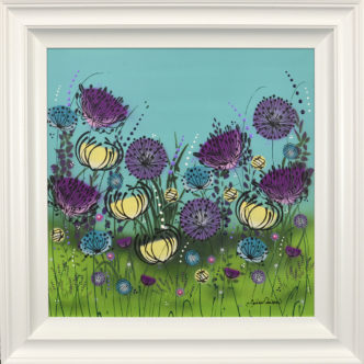 Colours of Summer Original Painting by Jennifer Crowshaw